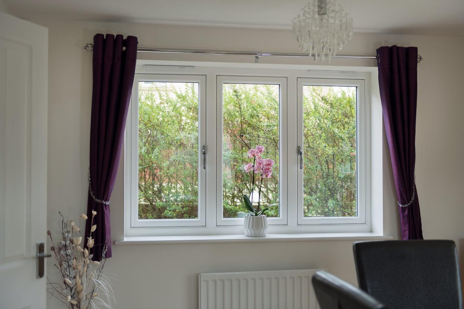 Upvc Casement Window : Upvc flush casement windows thetford