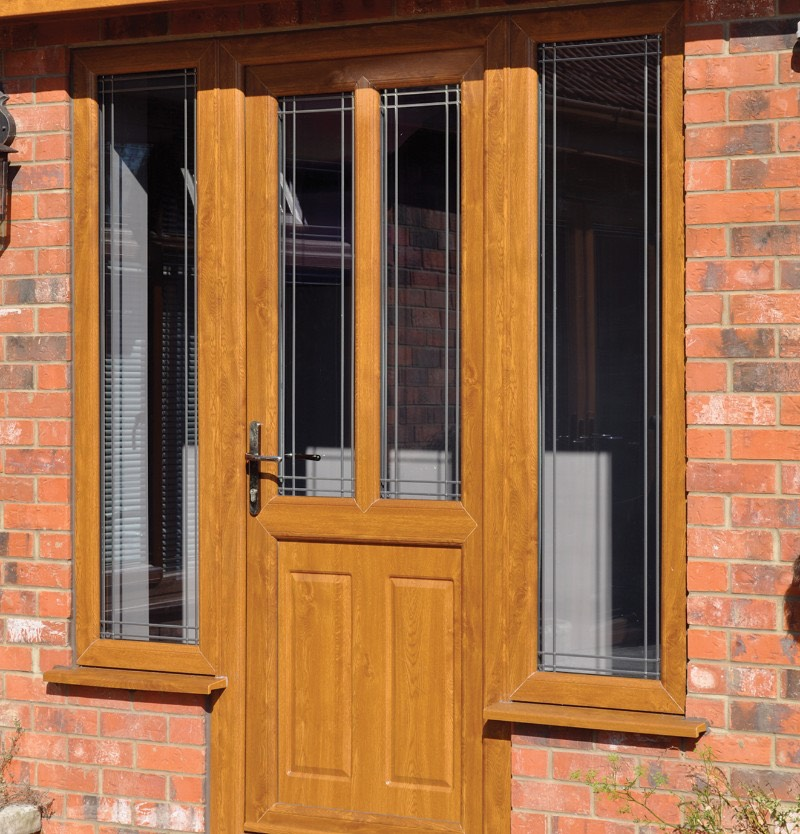 uPVC Residential Doors Design Brandon